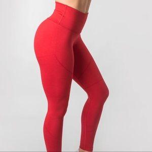Alphalete R6 Red Leggings